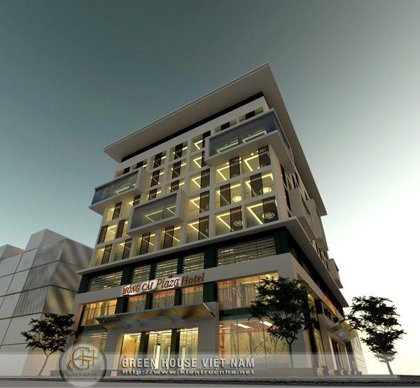 Thiết kế khách sạn Móng cái