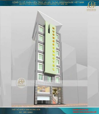 Thiết kế khách sạn Hương Sơn