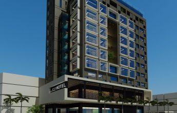 thiết kế khách sạn biển bắc - móng cái