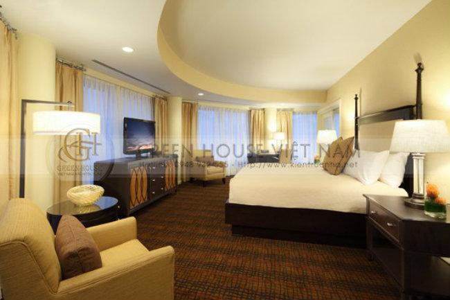 Thiết kế khách sạn hiện đại theo tiêu chuẩn 4 sao - Khách sạn Biển Bắc