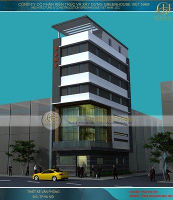 thiết kế văn phòng cho thuê tại Hà Nội