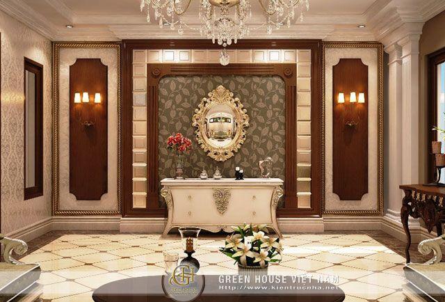 Thiết kế nội thất với phong cách cổ điển sang trọng