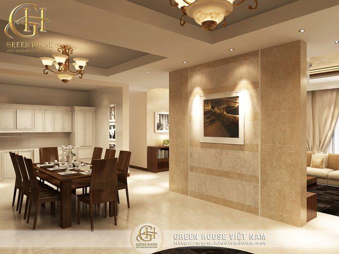 Góc nội thất phòng ăn