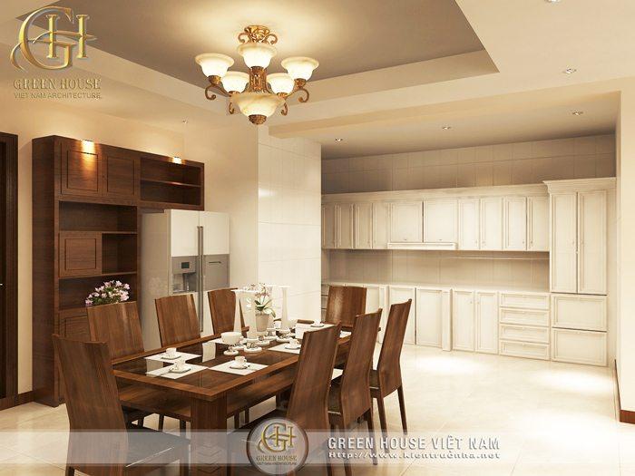 Bếp và phòng ăn