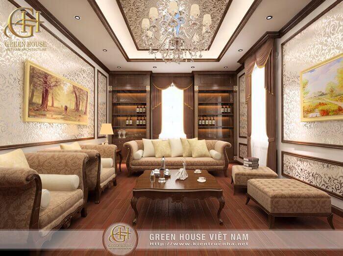 Thiết kế nội thất biệt thự – Anh Sơn, Ninh Bình