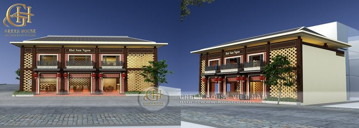 Thiết kế nhà hàng hải sản ngon tại Bắc Giang
