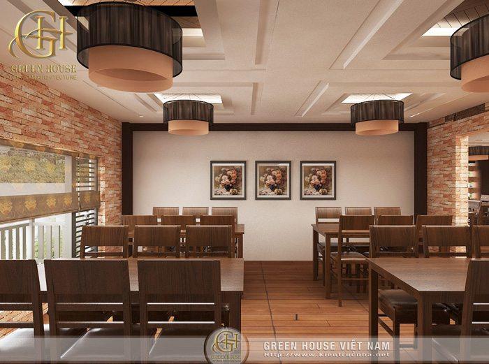 Thiết kế nội thất nhà hàng Hải Sản Ngon