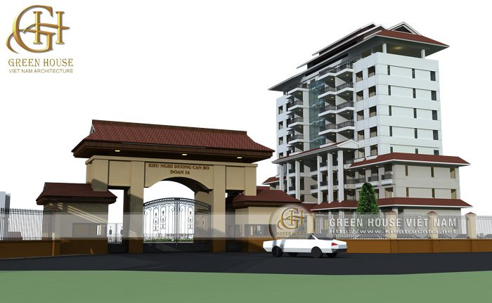 Thiết kế kiến trúc khách sạn, nhà nghỉ dưỡng