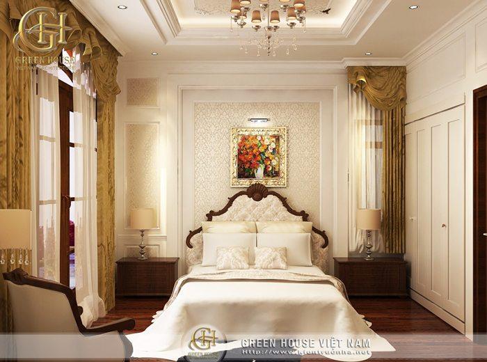Thiết kế biệt thự tân cổ điển nhà anh Chính - Bắc Giang