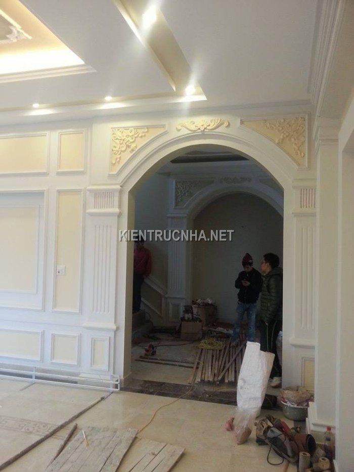 Công trình biệt thự cổ điển nhà Anh Chính - Bắc Giang