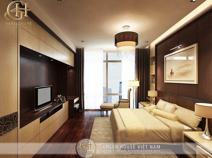 Nội thất Phòng ngủ chung cư Diamond Flower Tower