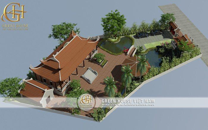 Các mẫu thiết kế thi công nhà thờ đẹp