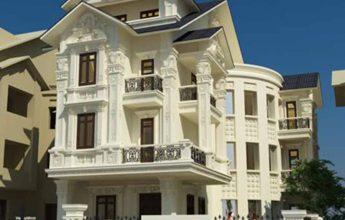 Thiết kế biệt thự cổ điển tại Hải Phòng