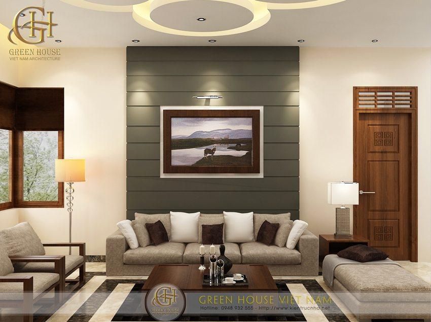 Thiết kế nội thất nhà phố của anh Thủy, Bắc Giang