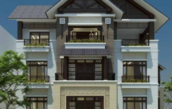 Mẫu thiết kế biệt thự 3 tầng tại Thanh Hóa - Biệt thự chú Trực
