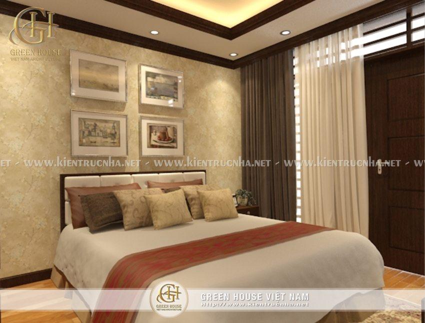 thiết kế nội thất phòng ngủ khách