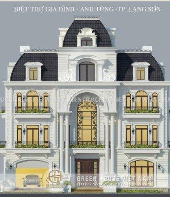 biệt thự cổ điển tại Lạng Sơn