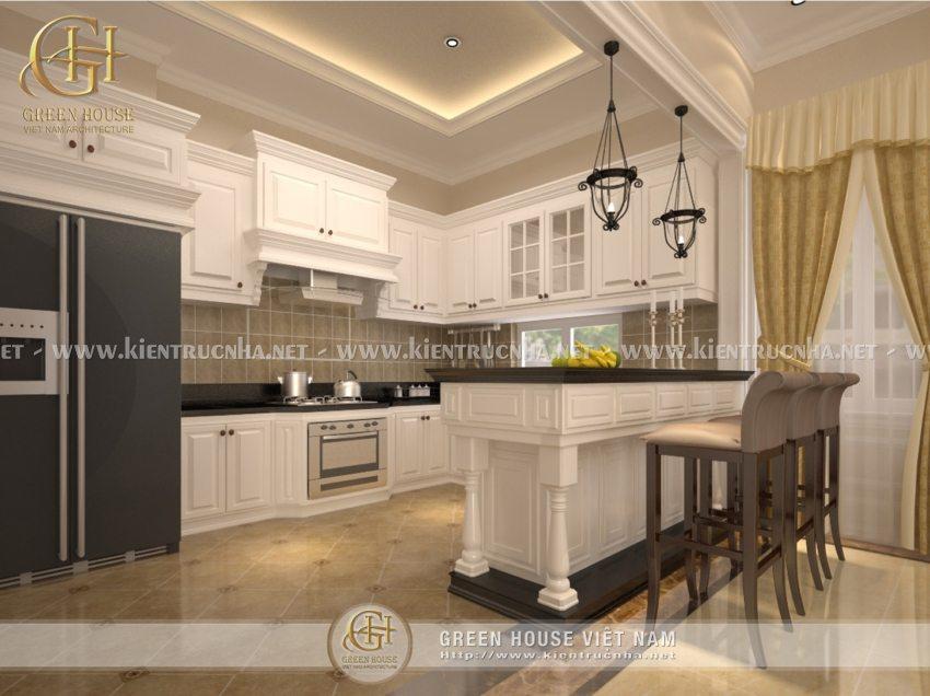 Thiết kế biệt thự gia đình nhà anh Lương, Bắc Giang