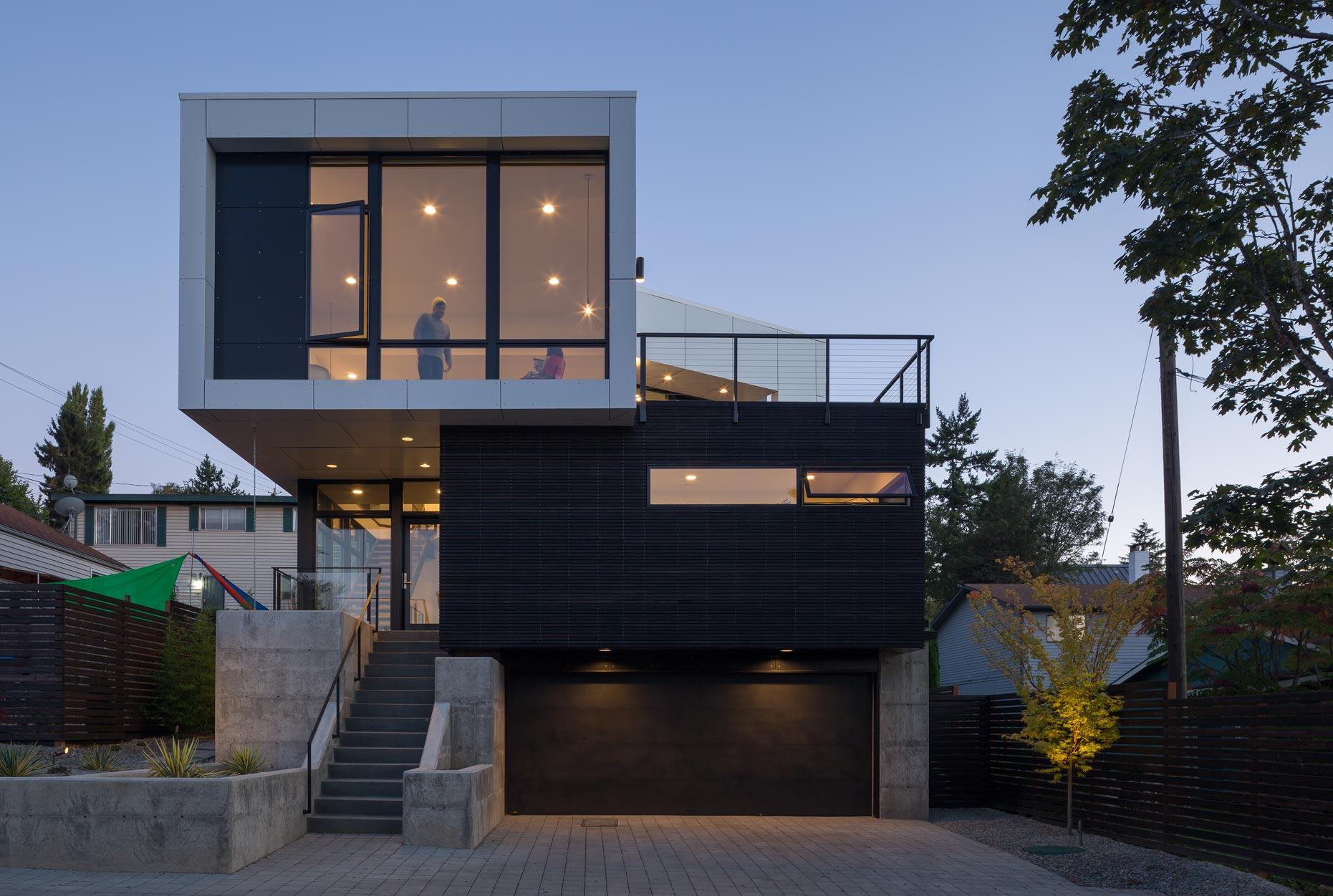 Thiết kế nhà với sự sáng tạo để ánh sáng vào nhà