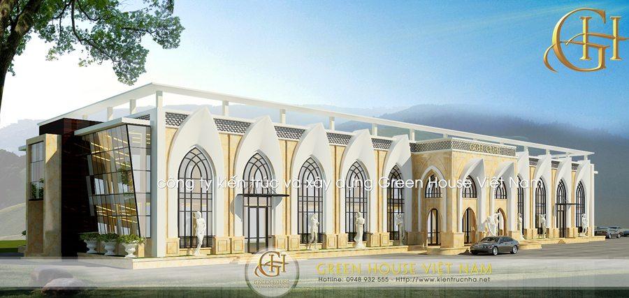 Thiết kế sân tập Golf tại Bắc Giang
