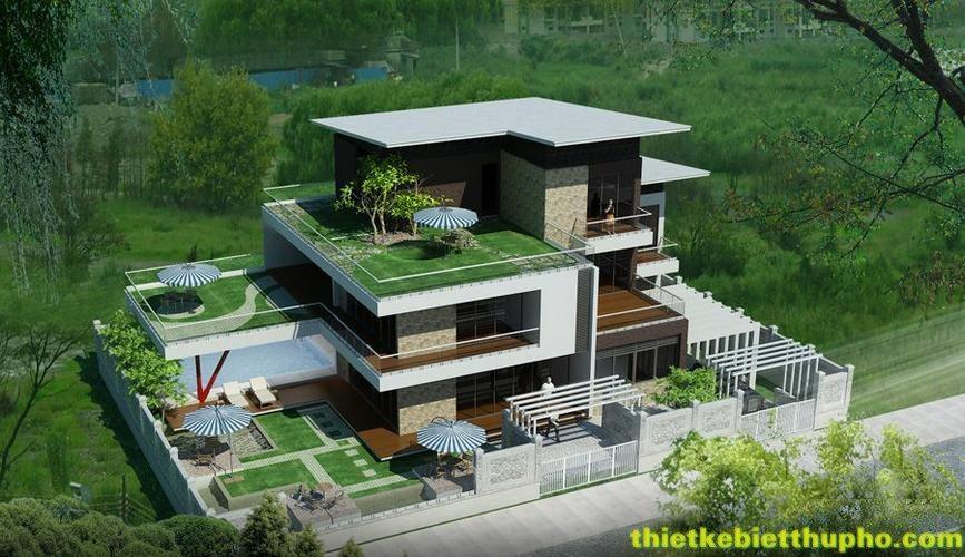 Biệt Thự Sân Vườn Dành Riêng Cho Người Yêu Thiên Nhiên Nhung-mau-biet-thu-nha-vuon-dep-5