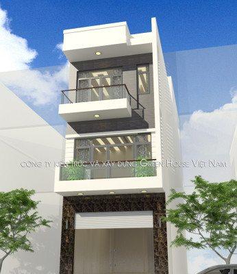 thiết kế nhà 3 tầng hiện đại