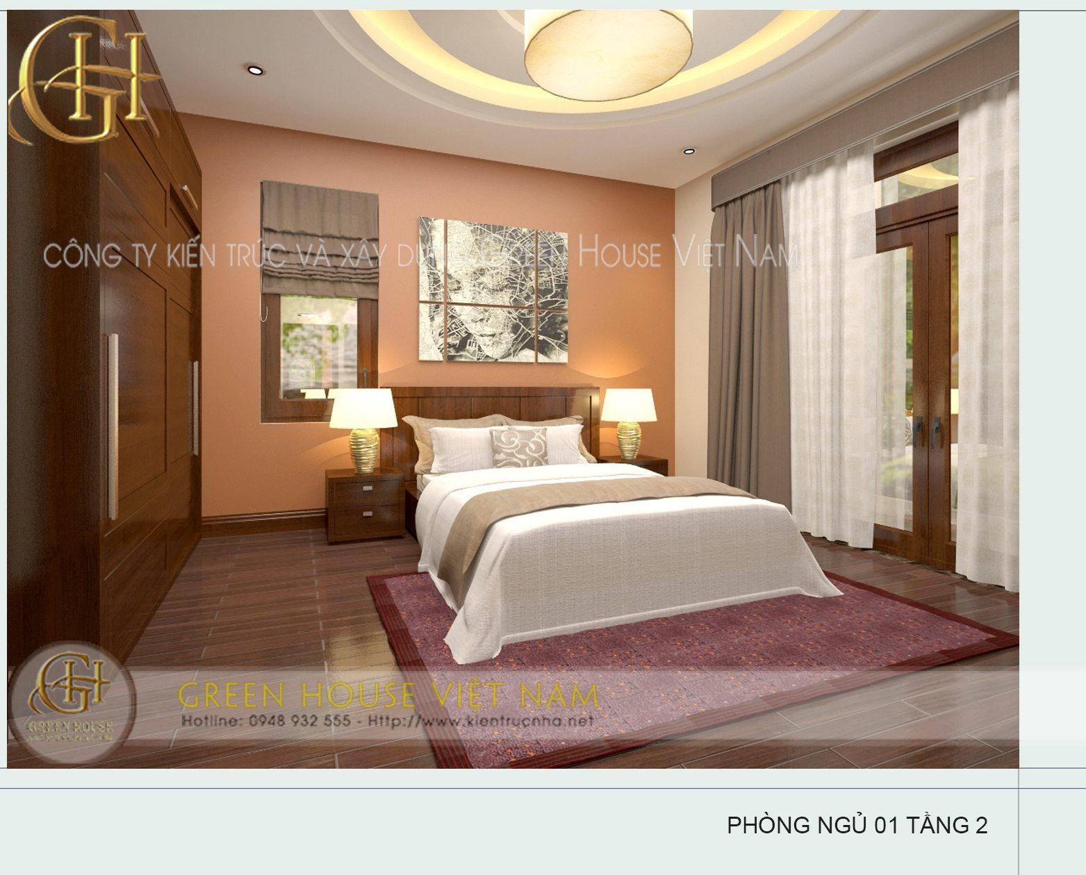 Biệt thự nhà anh Hùng- thành phố Bắc Giang