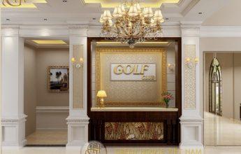 Thiết kế nội thất tân cổ điển - Golf Club