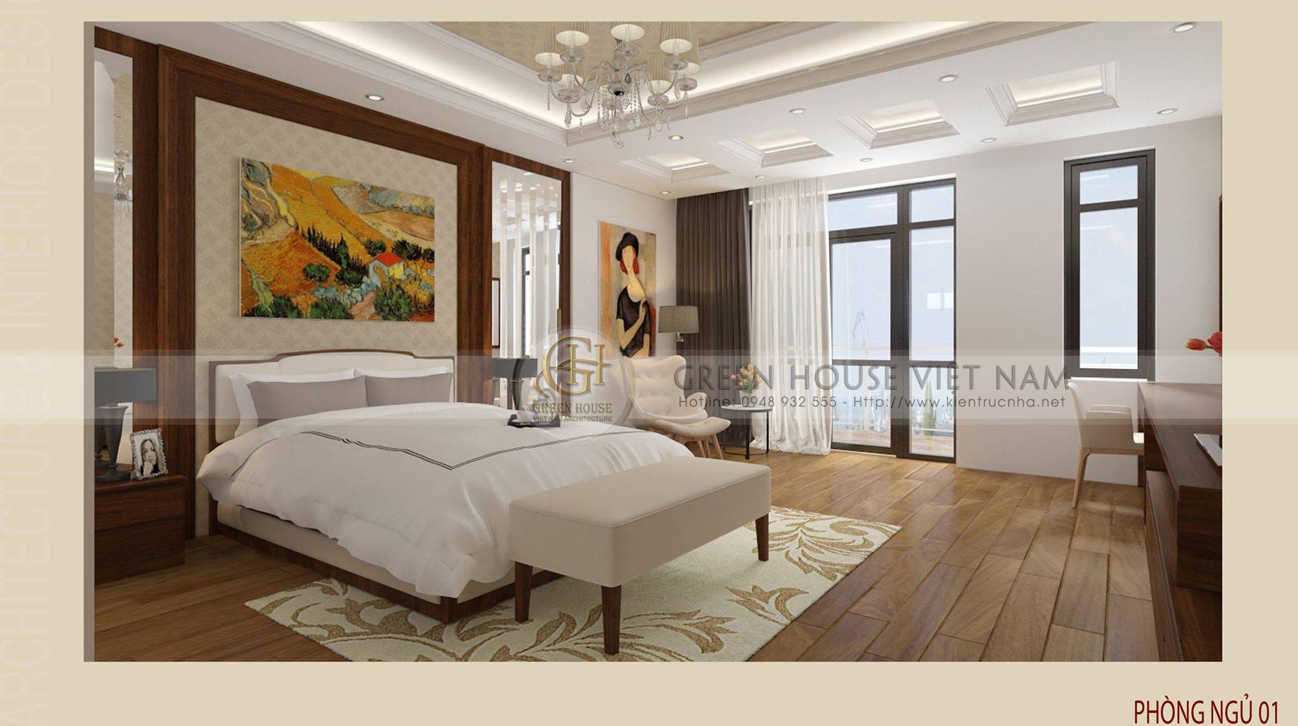 Thiết kế nội thất : nội thất nhà anh Hưng- Tp Bắc Giang