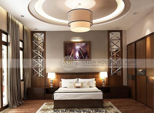 Thiết kế nội thất biệt thự hiện đại, sang trọng : biệt thự gia đình chị Hà – Tp Bắc Giang