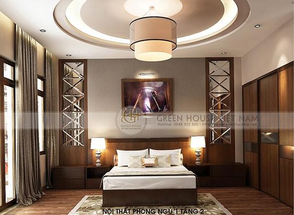 Thiết kế nội thất : biệt thự gia đình chị Hà - Tp Bắc Giang