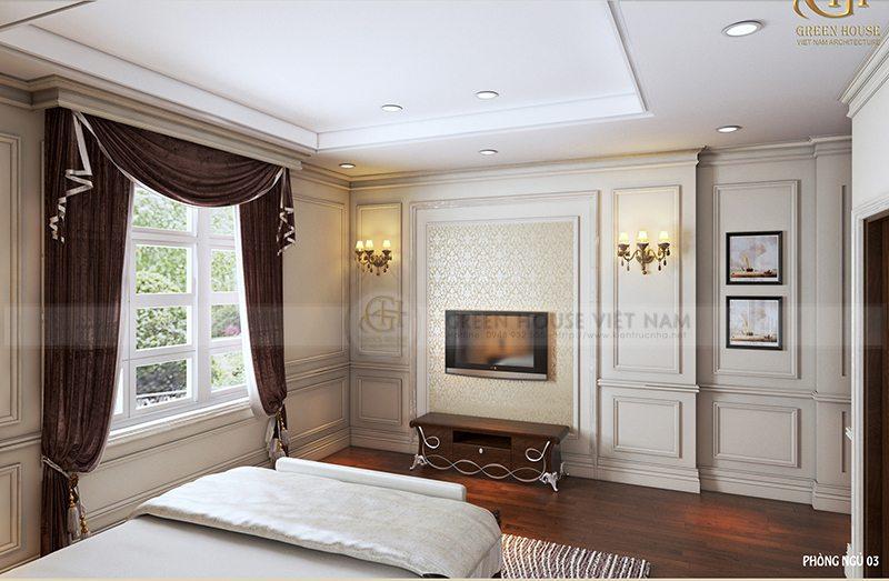 Thiết kế nội thất tân cổ điển - Gia đình anh Thức - Bắc Giang