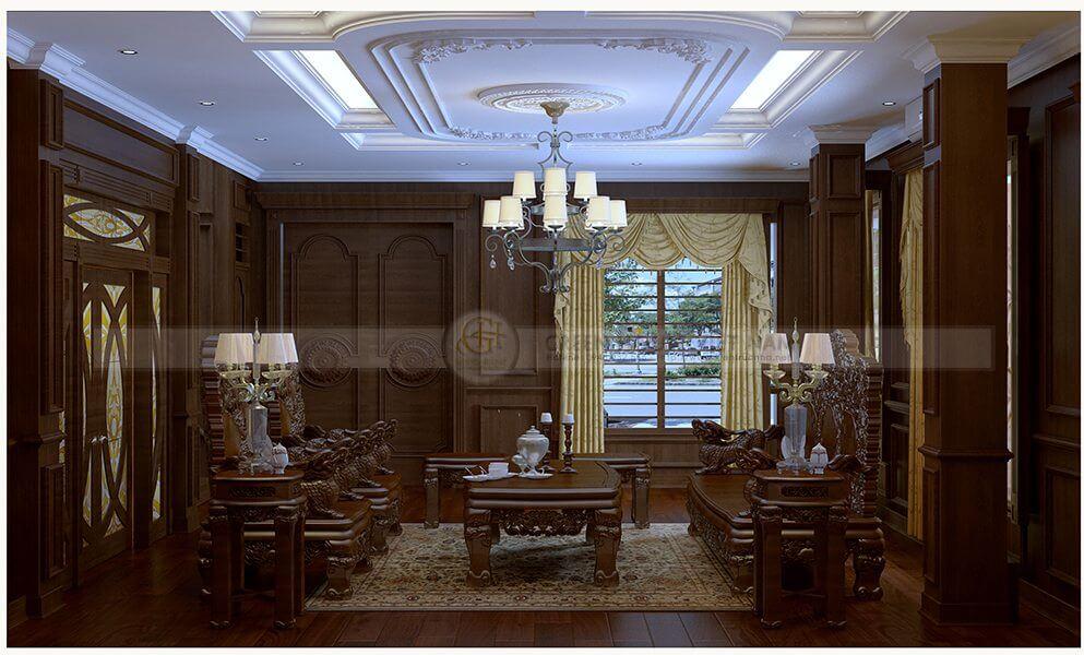 Thiết kế nội thất: chú Toàn – Hà Nội