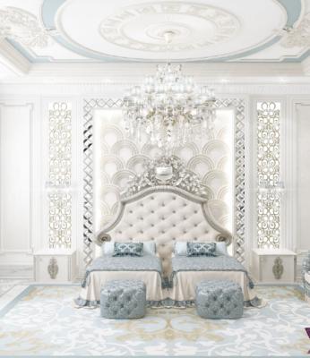 Mẫu phòng ngủ Master đẳng cấp nhất 2017 dành riêng cho biệt thự cổ điển (1)