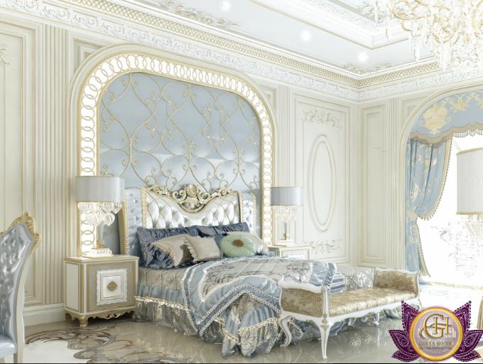 Mẫu phòng ngủ Master đẳng cấp nhất 2017 dành riêng cho biệt thự cổ điển