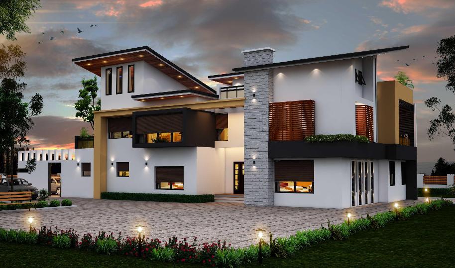 Mẫu thiết kế biệt thự hiện đại mới nhất năm 2017