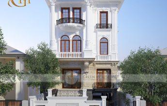 Mẫu thiết kế biệt thự tân cổ điển tại Bắc Ninh