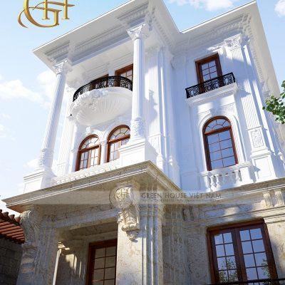 Mẫu thiết kế biệt thự tân cổ điển ai cũng muốn sở hữu tại Bắc Ninh