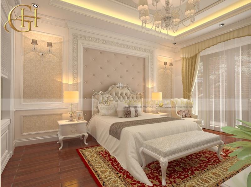 Phòng ngủ tân cổ điển pháp đẹp