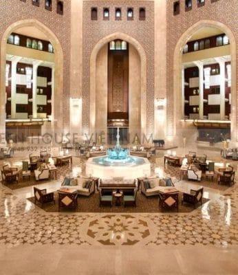 Mẫu thiết kế khách sạn đẹp có sảnh lobby ấn tượng