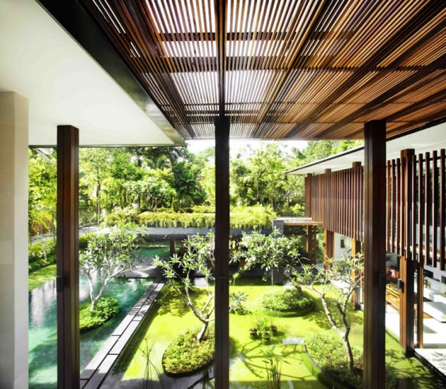 50 mẫu biệt thự xanh hiện đại và độc đáo