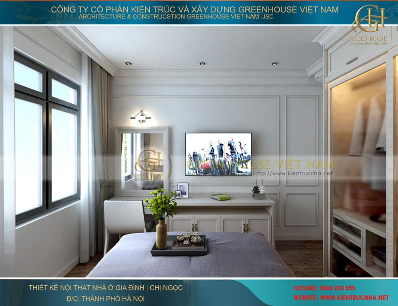 Thiết kế nội thất phòng ngủ 02