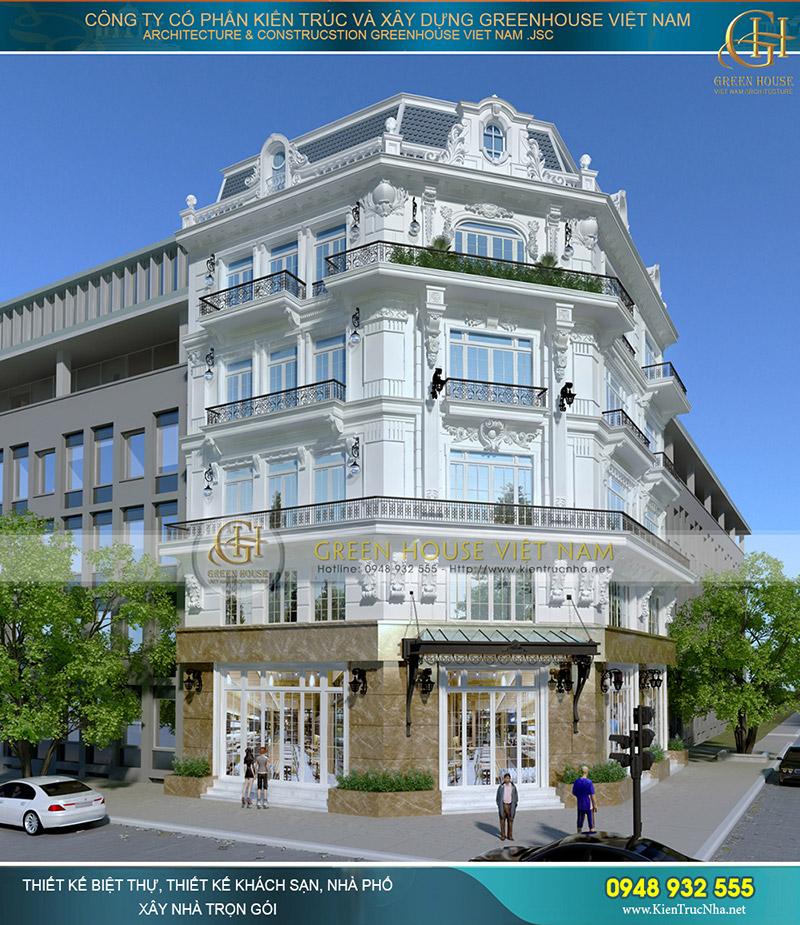 thiết kế khách sạn cao cấp