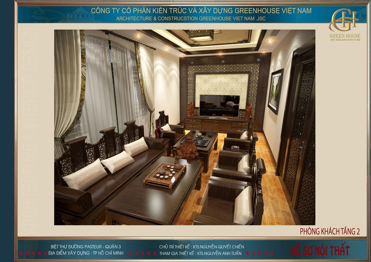 thiết kế cải tạo nội thất biệt thự