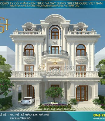 Biệt thự, dinh thự kiểu pháp cổ điển đẹp