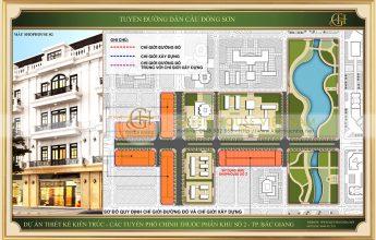 Mẫu 2 - Dự án nhà ở tuyến đường dẫn cầu Đông Sơn