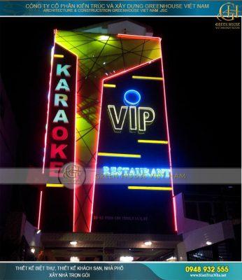 Thiết kế quán karaoke đẹp