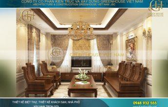 nội thất dinh thự cổ điển