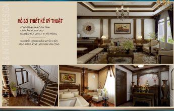 thiết kế nội thất nhà cao cấp
