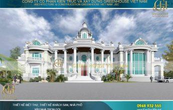 thiết kế biệt thự, dinh thự cổ điển đẳng cấp nhất